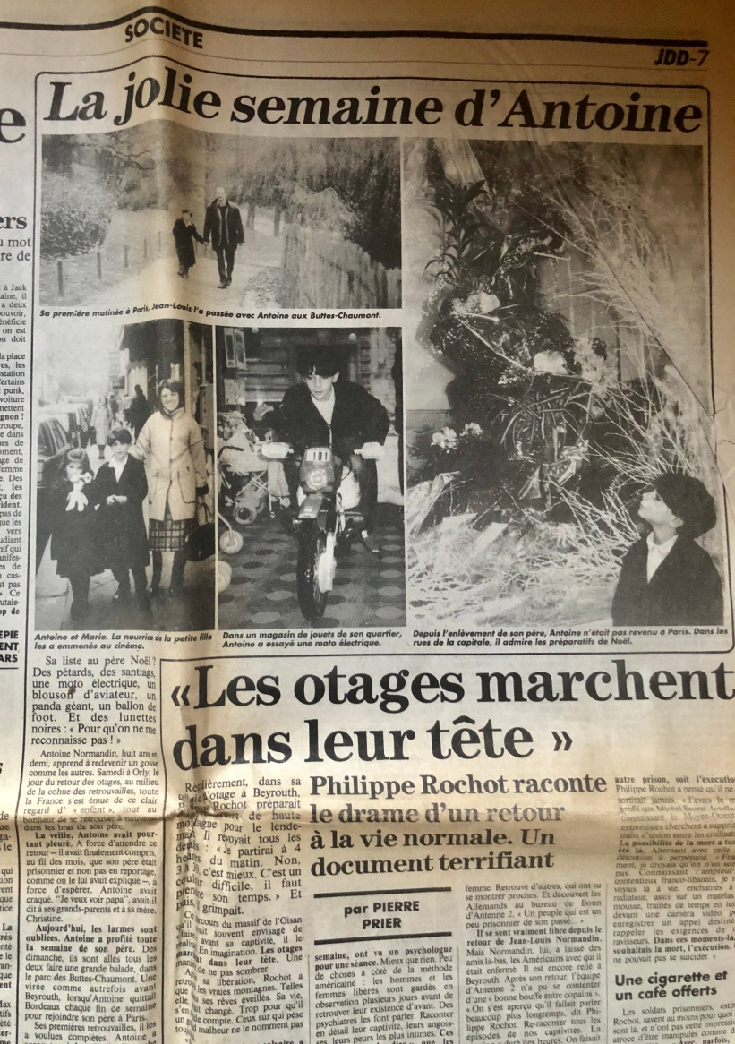 Article du JDD photos et article Jean-Luc Battini