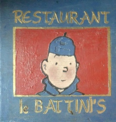 Enseigne du restaurant Battini's